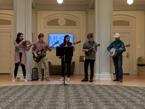 Members of the Carolina Bluegrass Band